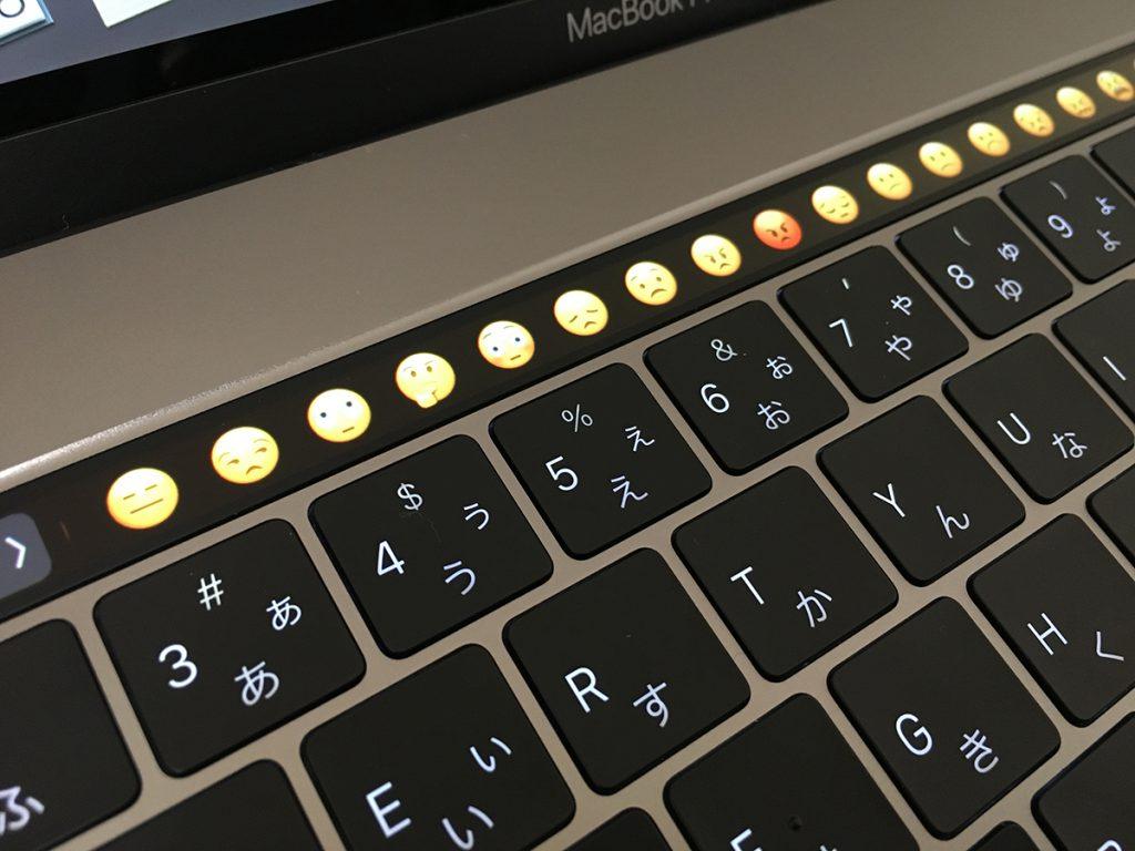 MacBook Pro2016 タッチバー&キーボード