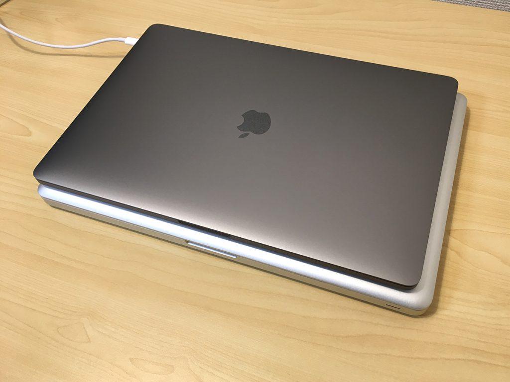 MacBook Pro2016&2012 15インチ