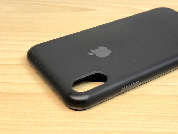 iPhoneXで8ヶ月間使った「アップル純正シリコンケース」の経年劣化がこちら