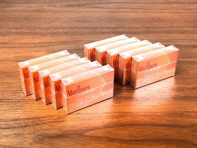 マルボロ トロピカルメンソールは強すぎず弱すぎないメンソールとフルーティーな香りが口いっぱいに広がるちょうどいい風味