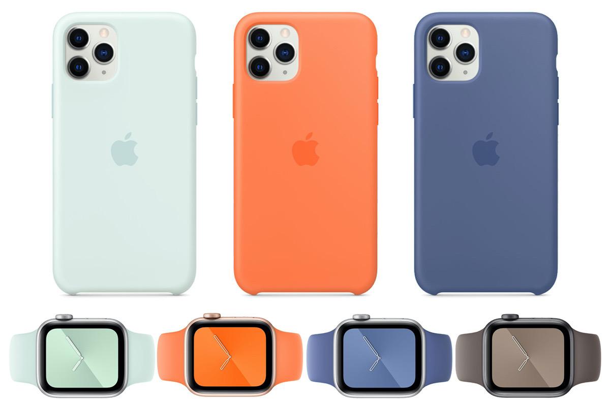 Apple夏の新色2020 iPhoneケースとApple Watchバンドをリリース