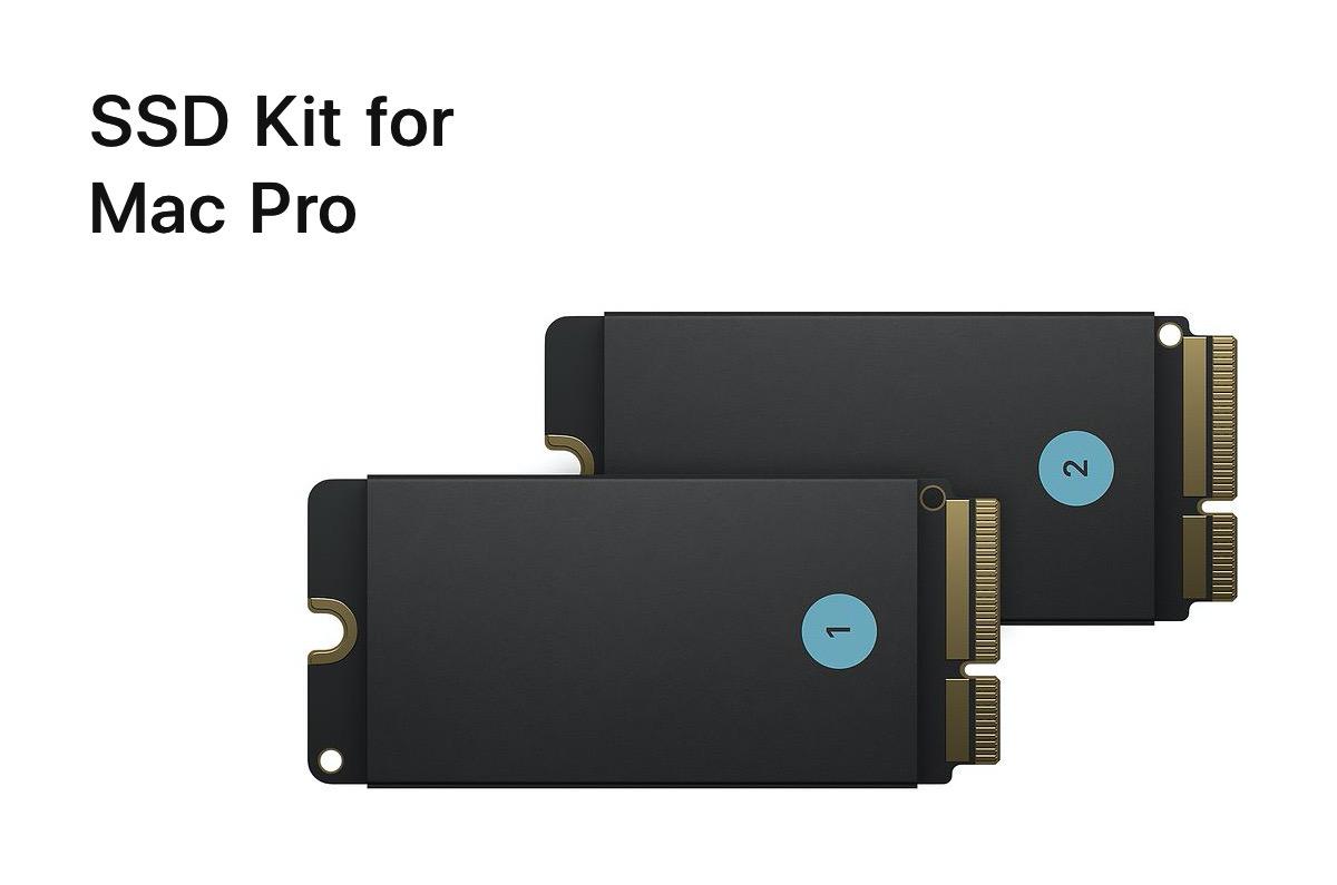 Apple、Mac Proの保存容量を増やせるSSDキット for Mac Proを販売開始