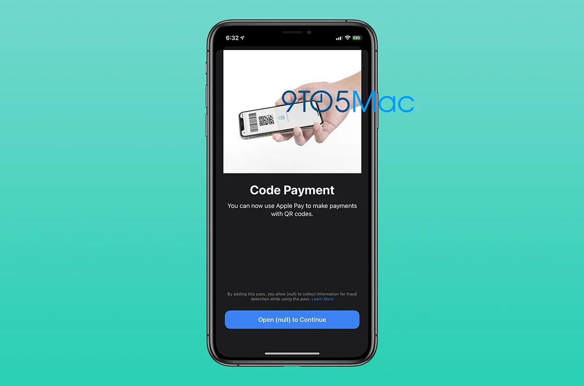 Apple Payが iOS 14でQRコード支払いに対応か