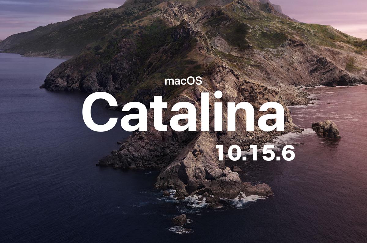 macOS Catalina 10.15.6 追加アップデートをリリース 「バグの修正」など
