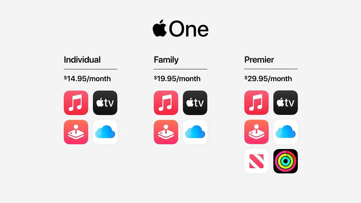 Apple、サービスをコミコミで割安に提供 Apple One発表、今秋登場