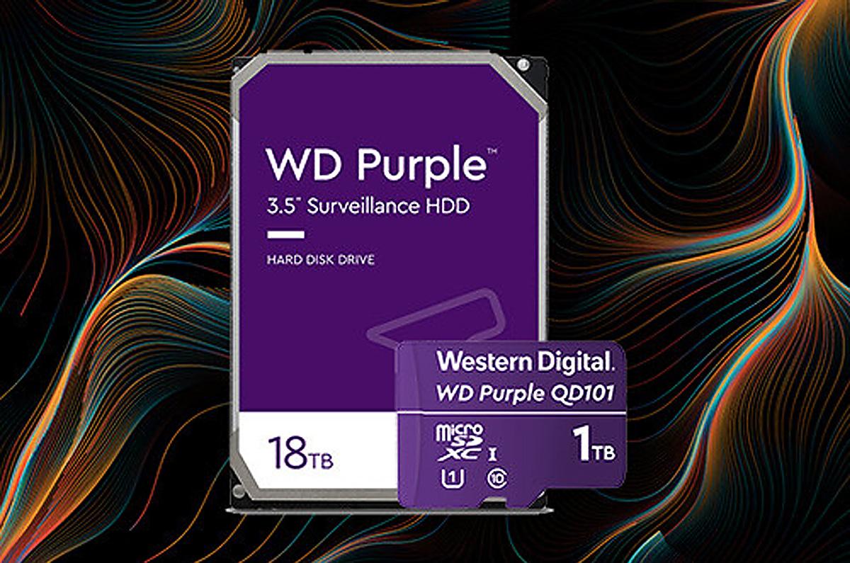ウエスタンデジタル、ドローンにも最適「1TBのマイクロSD」と「18TBのHDD」を発表