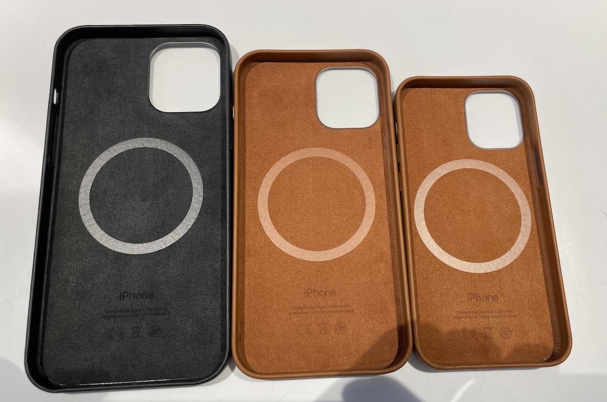 iPhone 12シリーズ用、未発売のApple純正レザーケースが公開される