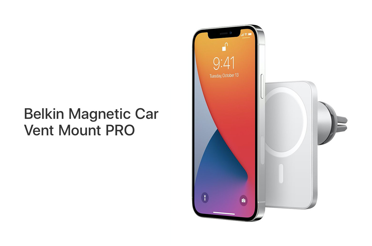 Belkin、MagSafe用iPhone車載ホルダー「対応するエアコン吹き出し口・注意点」Belkin Magnetic Car Vent Mount PRO