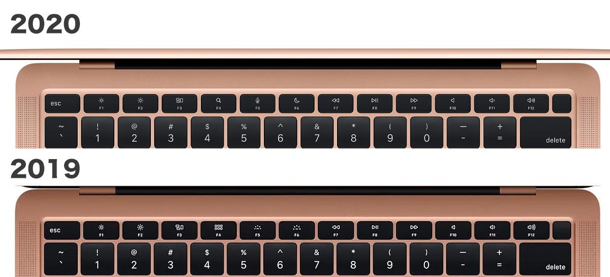 M1チップ搭載MacBook Airのキーボード、見えてるのに「気付かない部分もアップデート」
