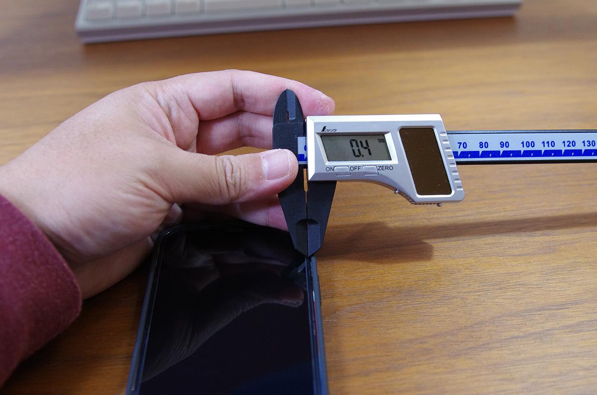 【レビュー】iPhone 12シリーズ用、ダイソーのガラスフィルム「100円なのに2,000円レベル」へ高品質化 / 実寸サイズ計測
