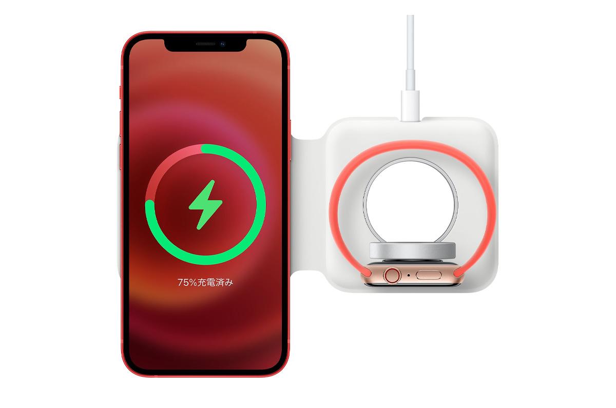 MagSafeデュアル充電パッド、29W充電アダプタは使用不可 / 充電パッドで使える充電器