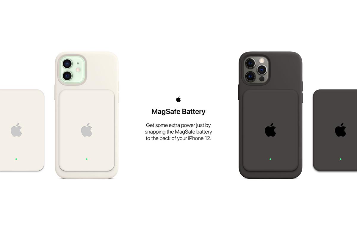 Apple、MagSafe スマートバッテリー発表の兆し「iPhone 12シリーズ用の脱着式バッテリー」