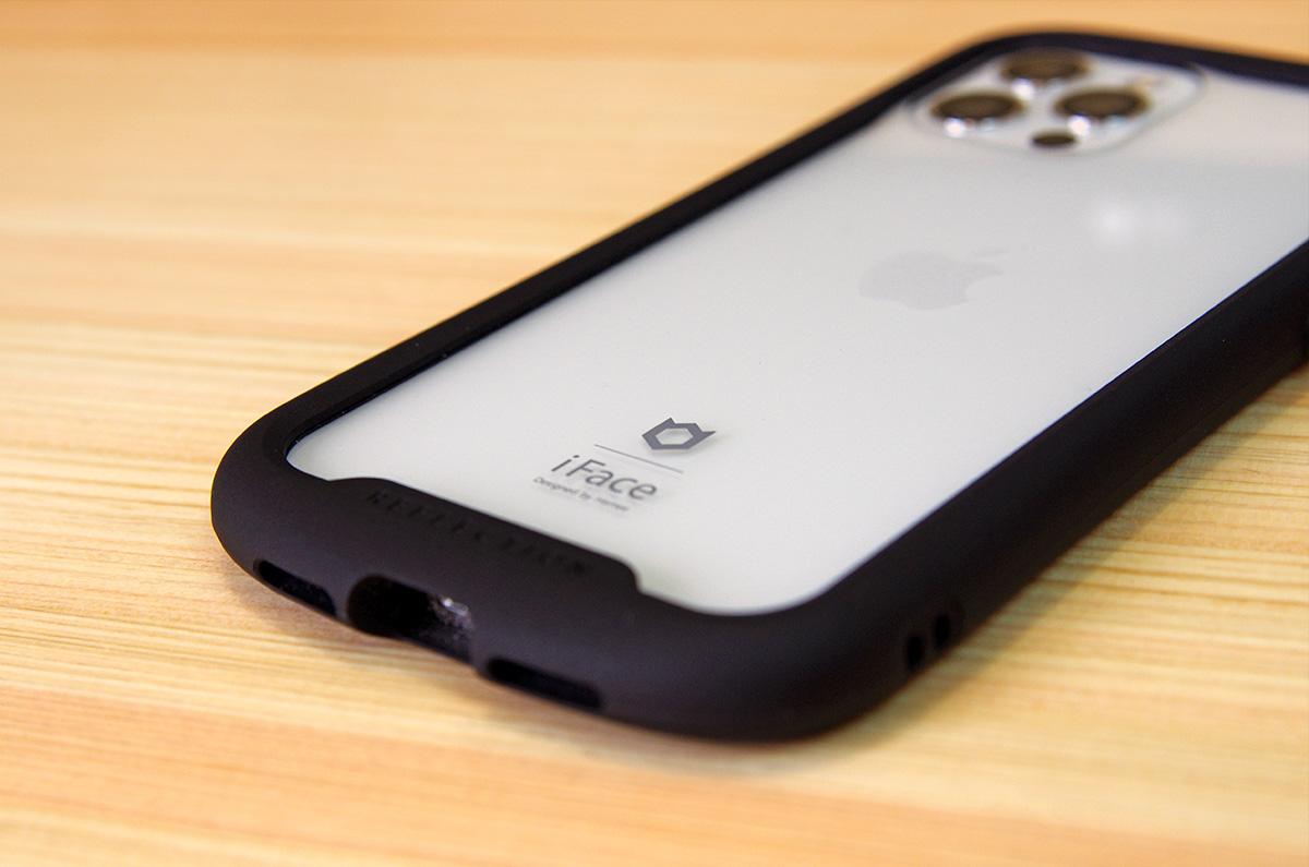 【実測】iFace Reflection iPhone 12/12 Pro ケース「画面、開口部のサイズ」ガラスフィルム購入の目安に