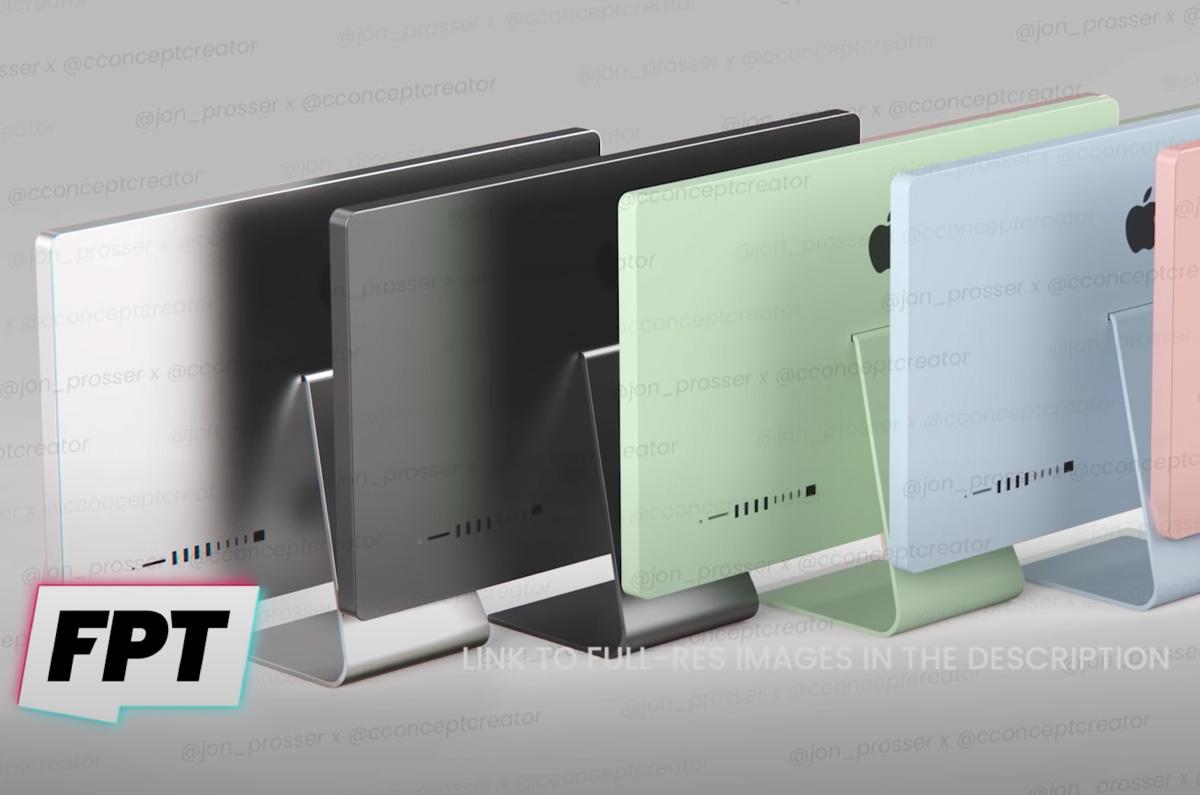 2021年 iMacは5色展開か / 低価格モデルを投入の可能性