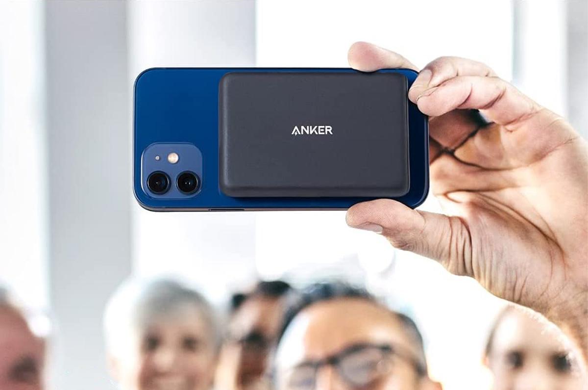 Anker、iPhone 12に対応モバイルバッテリー「マグネット式で張り付く」PowerCore Magnetic 5000 / MagSafeとの違いや注意点