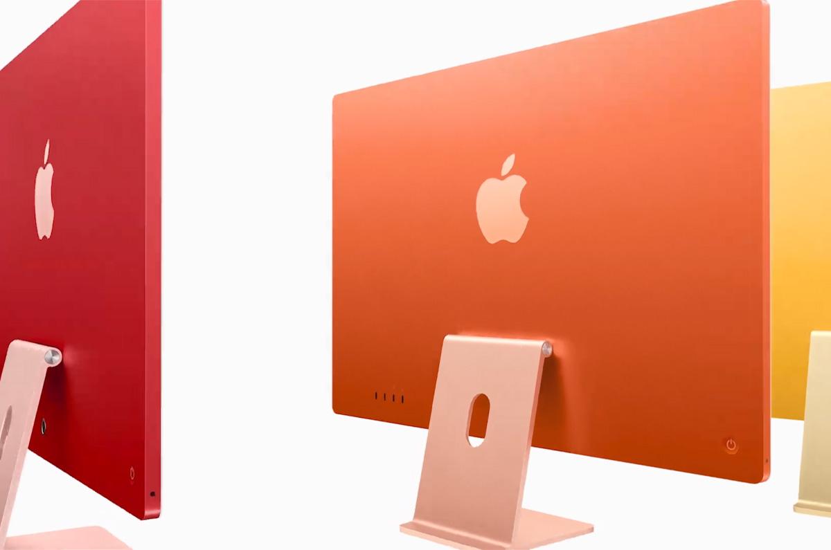 Apple、カラフルなiMac 24インチを発表