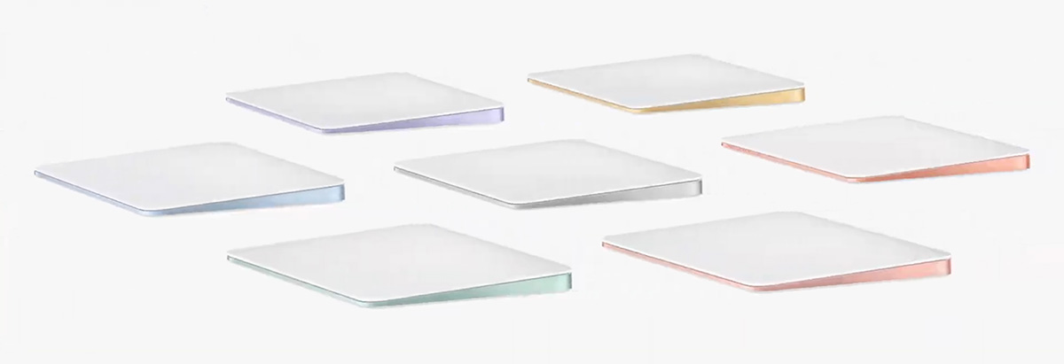 Apple、新型iMacに併せて新型キーボードを発表「iMac初 Touch ID搭載」