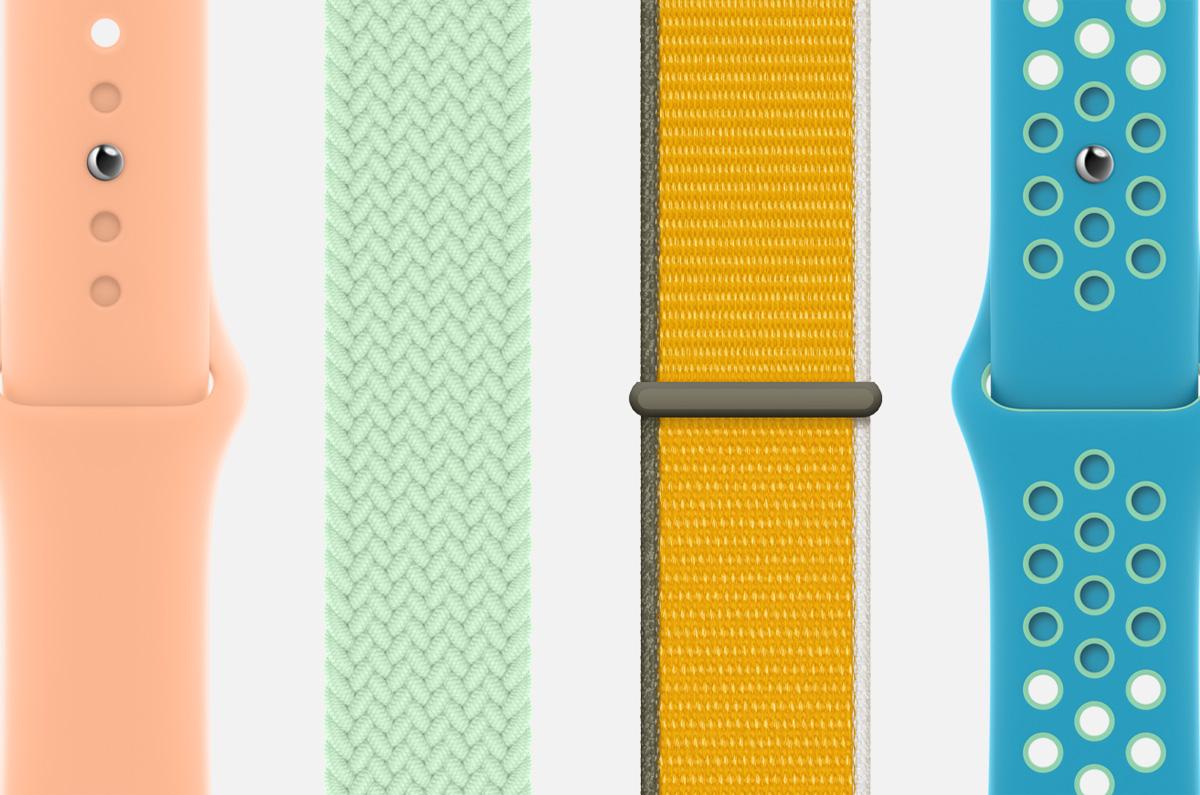 Apple Watchのバンド「2021年春モデルが続々」新たに追加