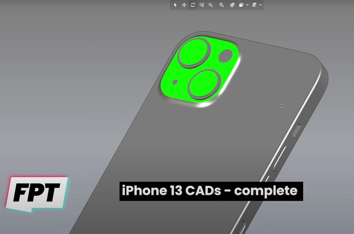 iPhone 13のCADデータがダウンロード可能「未発表のiPhoneが観察できる」