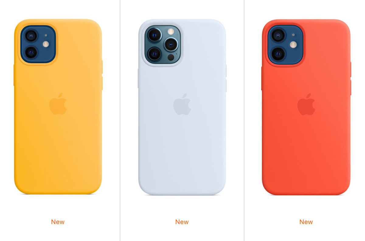 新色 iPhone 12純正シリコーンケース「カラフルな3カラーが登場」