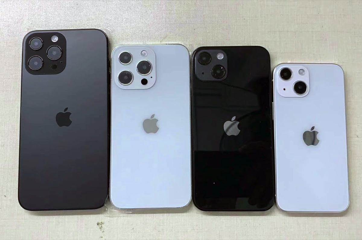 iPhone 13シリーズ、新たなモックが公開される